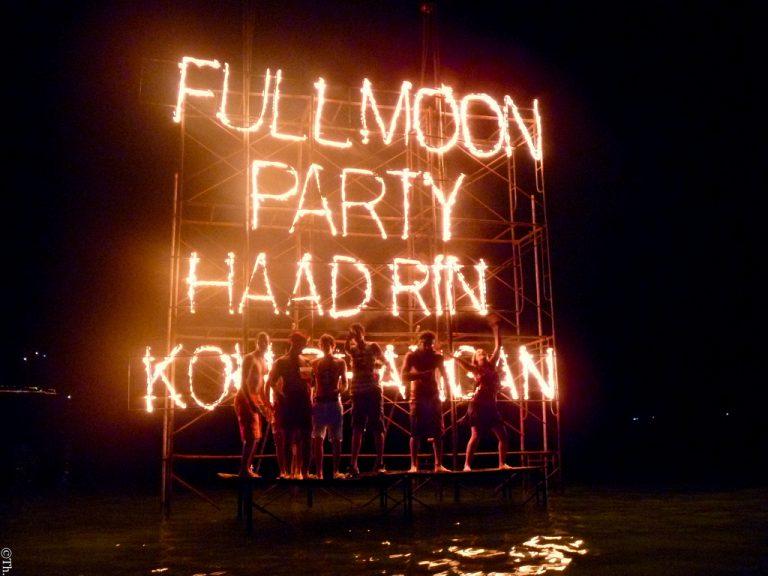 Koh Phangan Full Moon Party, ActivityFan